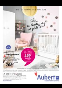 Prospectus Aubert PONTAULT COMBAULT : Chut, ne réveillez pas nos petits prix !