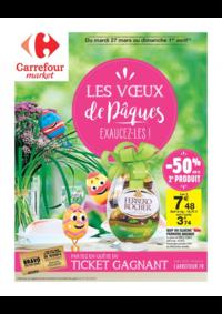 Prospectus Market Brunoy : Les vœux de pâques
