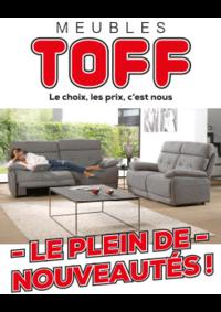 Catalogues et collections Meubles Toff : Le plein de nouveautés