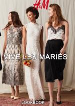 Catalogues et collections H&M : Lookbook femme Vive les mariés