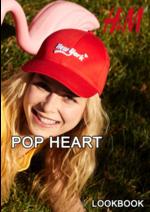 Catálogos e Coleções H&M : Lookbook mulher Pop heart