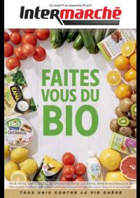 Prospectus Intermarché Super Jussey : Faites vous du bio