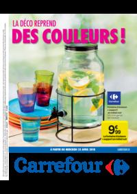 Prospectus Carrefour JAMBES : La déco reprend des couleurs !