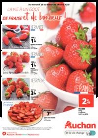 Prospectus Auchan PUTEAUX : La vie a un goût de fraise et de bonheur !