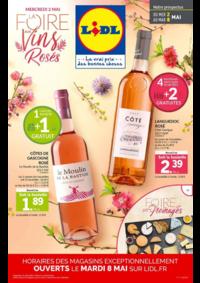 Prospectus Lidl VILLEJUIF : La foire aux vins rosés