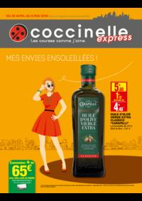 Prospectus Coccinelle Express PARIS : Mes envies ensoleillés !