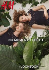 Catálogos e Coleções H&M Braga : Lookbook mulher No momento certo