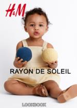 Catalogues et collections H&M : Lookbook enfant Rayon de soleil