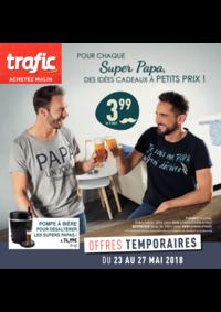 Prospectus Trafic Anderlecht : Pour chaque super papa des idées cadeaux à petits prix
