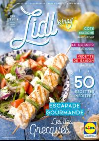 Journaux et magazines Lidl GOURDON : Lidl Le Mag