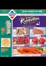 Prospectus Leader Price : Spécial ramadan