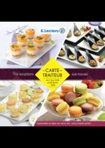 Prospectus E.Leclerc : La carte traiteur printemps ete 2018