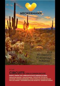 Prospectus Neckermann Namur : Circuits (USA&Canada inclus) Eté 2018