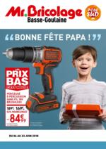 Prospectus Mr Bricolage : Bonne fête papa