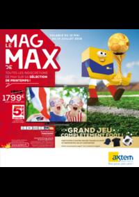 Journaux et magazines Axtem GOURDON : Le Mag de Max: Images et sons