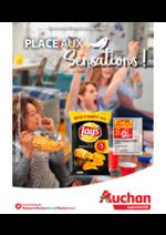 Promos et remises Auchan Supermarché : Place aux sensations