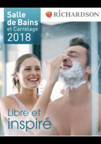Catalogues et collections Richardson AUBERVILLIERS : Salle de bains et carrelage 2018