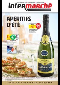 Prospectus Intermarché Super Coubron : Apéritifs d'été
