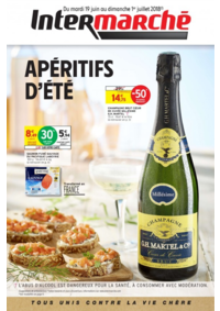Prospectus Intermarché Super Yerres : Apéritifs d'été