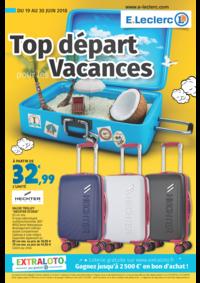 Prospectus E.Leclerc COLOMBES : Top départ pour les vacances