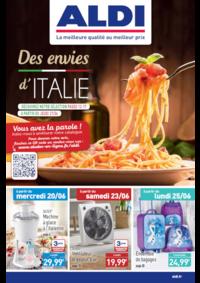 Prospectus Aldi Asnières-sur-Seine : Des envies d'Italie