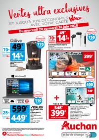 Prospectus Auchan MAUREPAS : Vente ultras exclusives
