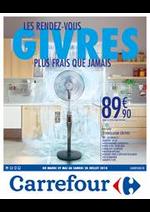 Prospectus Carrefour : @ LES RENDEZ-VOUS GIVRES