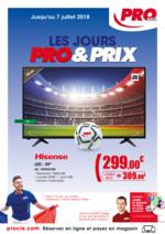 Prospectus PRO & Cie : Les jours Pro & Prix