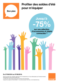 Prospectus Boutique Orange CHAUMONT 2 : Profitez des soldes d'été pour m'équiper