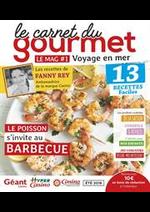 Promos et remises  : Le carnet du gourmet - Voyage en mer