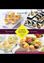 Prospectus E.Leclerc : Carte traiteur