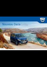 Prospectus Dacia - Renault Agent GARAGE JEAN CLAUDE MAGNIEN : Dacia Lodgy