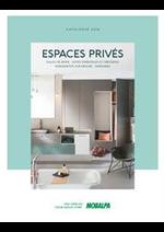 Prospectus Mobalpa : Salle de bain - Espace Privés 2018