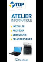 Prospectus Top office : Atelier Informatique