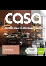 Catalogues et collections Casa : Nouvelle saison, nouveaux meubles
