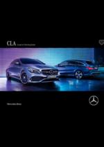 Catalogues et collections Mercedes Benz : CLA coupé