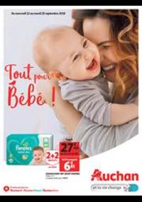 Prospectus Auchan : Tout pour bébé !