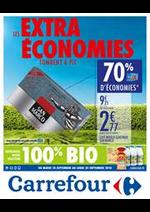 Promos et remises  : Les Extras Economies tombent à pic 10