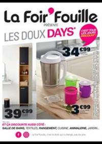 Prospectus La Foir'Fouille : Les Doux Days
