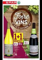 Prospectus Spar : Foire aux Vins