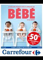 Prospectus Carrefour : Les meilleurs produits bébé
