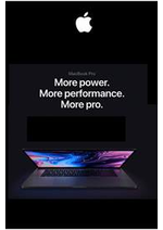 Prospectus Apple : Apple Macbook pro