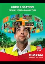 Prospectus Loxam : Guide Location Espaces Verts & Agriculture