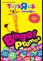 Prospectus Toys R Us : Bingo Promos