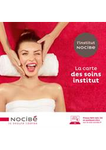 Prospectus Nocibé Parfumerie : Prestation Nocibe 2018