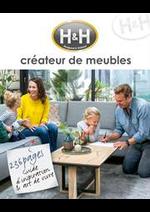 Prospectus H&H : Créateur de meubles