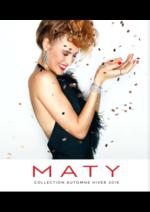 Prospectus Maty : Automne Hiver 2018