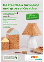 Prospectus Coop Brico+Loisirs : Bastelideen für kleine und grosse Kreative