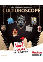 Prospectus Auchan : Le guide culture de Noël