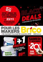 Prospectus Brico : Black deals